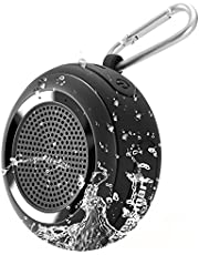 Bluetooth Speaker ,Tronsmart Element Splash 7W Deep Bass Round Shape True Wireless Stereo IP67 Waterproof Portable Bluetooth Speaker for iPhone iPad Samsung Android Phone and Home Travel Beach Shower
