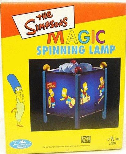 Magic Lamp Spinning (Simpsons Skateboarding Bart Simpson Magic Spinning Lamp)
