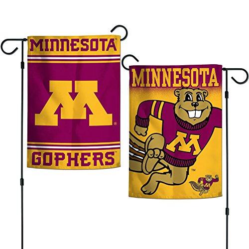 "Elite Fan Shop Minnesota Golden Gophers Garden Flag 12.5""x18"" - Red"