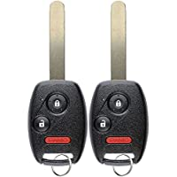 KeylessOption Keyless Entry Remote Control Car Key Fob Replacement for CWTWB1U545 (Pack of 2)
