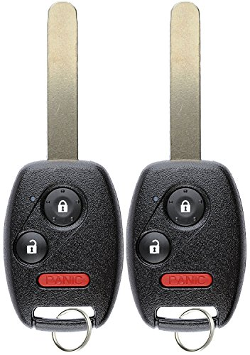 KeylessOption Keyless Entry Remote Control Car Key Fob Replacement for CWTWB1U545 (Pack of ()