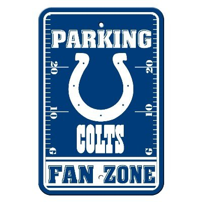 - Indianapolis Colts Plastic Parking Sign Indianapolis Colts Plastic Parking Sign