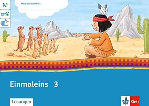 Einmaleins 2/3: Arbeitsheft Klasse 2/3 (Mein Indianerheft)