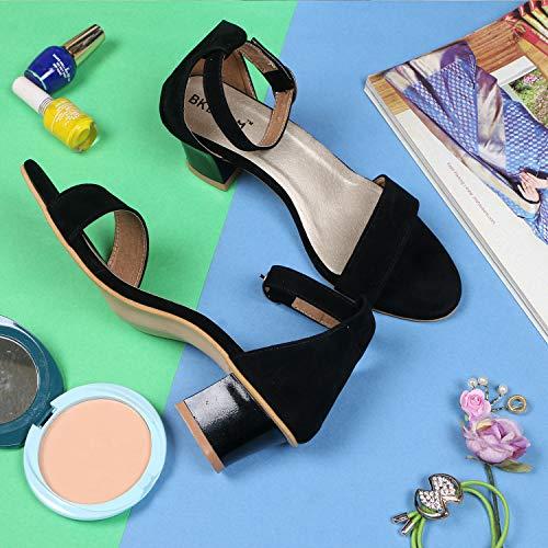 BK DREAM Women's Cross Strap Flat Sandals