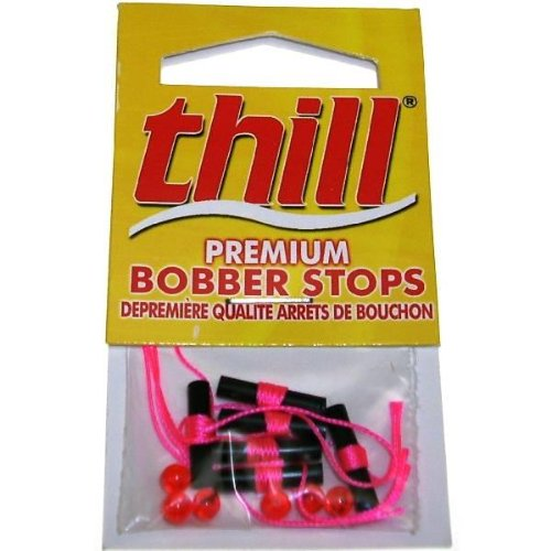 Thill Premium Bobber Stops - Hot Pink - 40