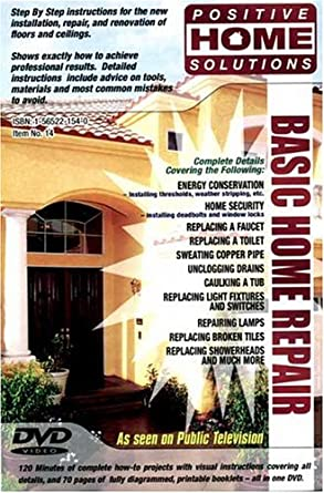 amazon com basic home repair home improvement dvd positive home