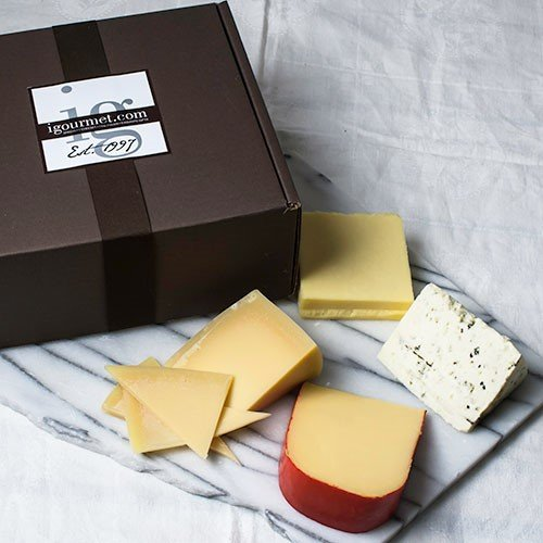 Four Continents of Cheese in Gift Box (30 ounce)