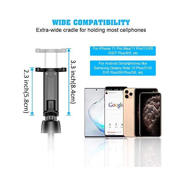 Bovon Bastone Selfie, Mini Estensibile 3 in 1 Selfie Stick Treppiede Smartphone con Telecomando Wireless Compatibile con… 6 spesavip