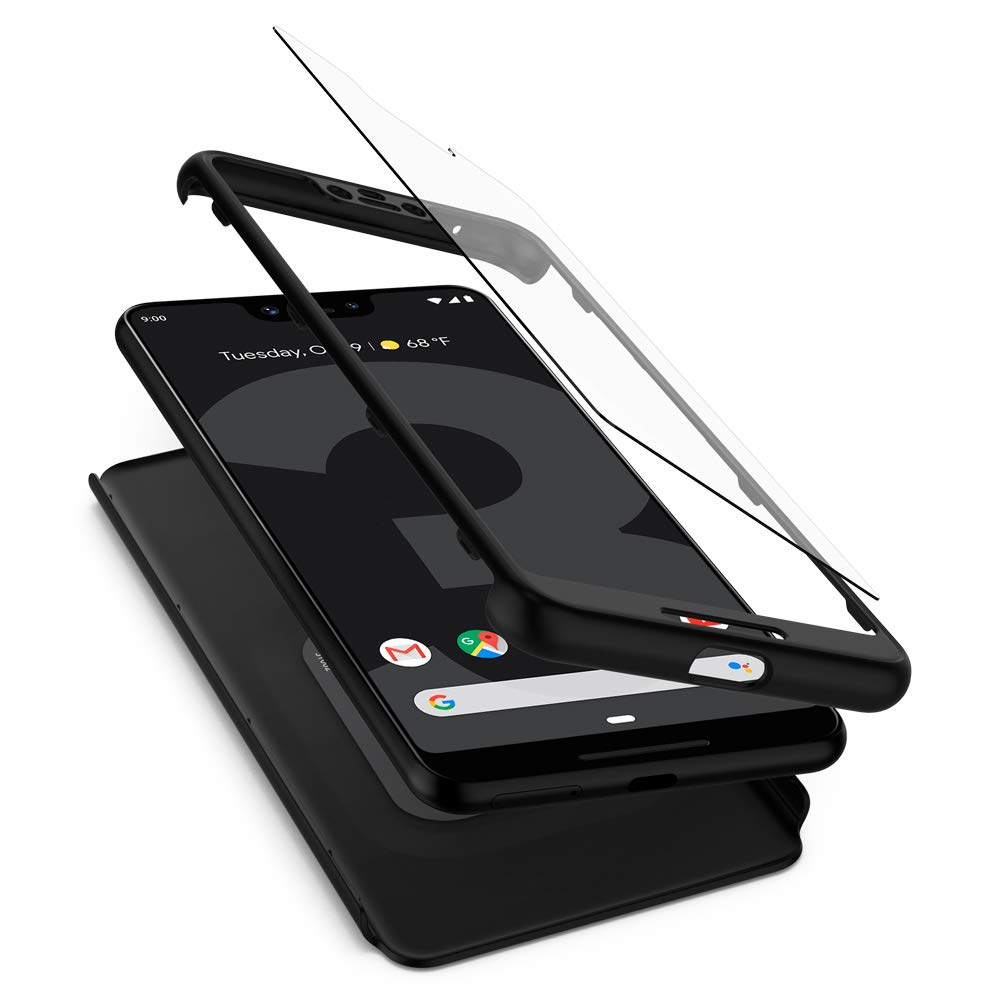Funda Spigen Google Pixel 3 Xl [black] Thin Fit 360