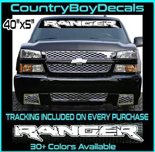 RANGER 40 Windshield Vinyl Decal Sticker TRUCK Danger Mini Stance Low Hated Neo