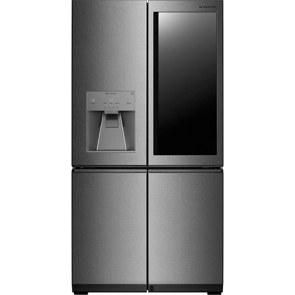LG LUPXS3186N Signature 31 Cu. Ft. Stainless InstaView Door-in-Door French Door Refrigerator