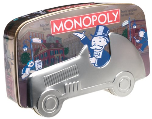 Monopoly Collector's Edition in a Tin Game -