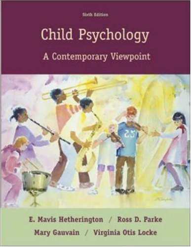 Download Child Psychology : A Contemporary Viewpoint -Text Only 6TH EDITION PDF