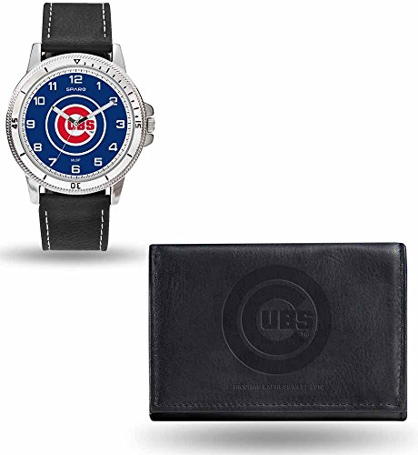 MLB Mens Watch Wallet Black product image
