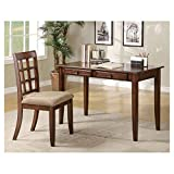 Writing Desk and Chair Set. This Furniture Is Durable and Tough, That Has 2 Drawers That Can Store Your Things.
