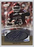 Adrian Peterson #29/200 (Football Card) 2007 SAGE Autographed Football - Autographs - Gold #A41