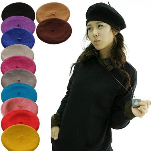 Women's Fashion Casual Beret Beanie Hat