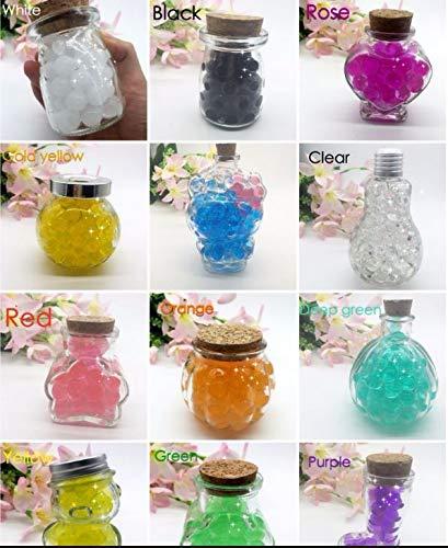 1cb3e027a J & J Paquete: 35 G 12 Colores Diferentes Perlas de Agua Gel Perlas ...