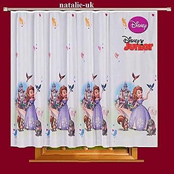 Amazon.de: Gardinen Sofia 225cmB x 160cmL Kinderzimmer Vorhang DISNEY