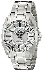 Bulova Men's 96B130 Precisionist Longwood Stainless-Steel Bracelet Watch