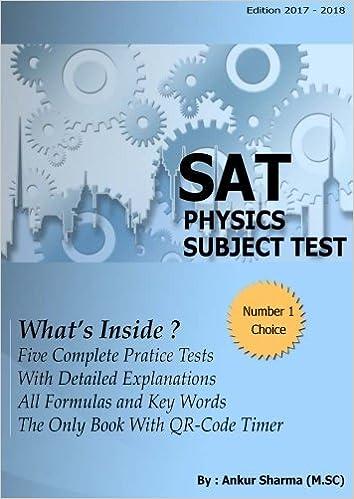 SAT Physics 2018 Practice-Test: SAT Physics subject test: Amazon ca