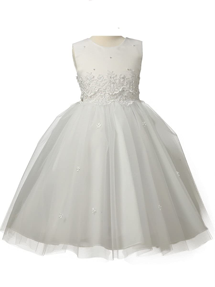 b5b46cbeed15 Amazon.com: Cinderella Tulle Flower Girl Dress: Clothing