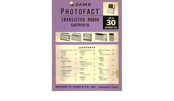 Sams Photofact Transistor Radio Series Tsm30 November 1963 Staff Rhamazon: Tr 2051 Radio Realtone Electronics Inc Where Build At Gmaili.net