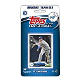 2012 Topps Los Angeles Dodgers Factory Sealed Special Edition 17 Card Team Set