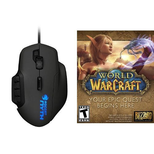 Roccat World of Warcraft - PC/Mac [Digital Code] and Mous...