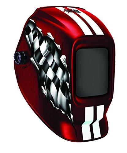 14264 red racing helmet shade