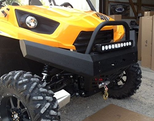Extreme Metal Products EMP Kawasaki Teryx / Teryx4 Front Bumper with Winch Mount and Brush Guard 12316