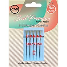 Clover 9112 Best Premium Machine Needles, Universal Needles