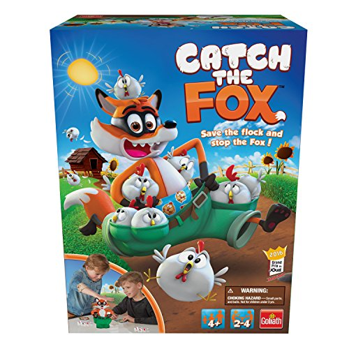 Goliath Catch The Fox Game (4 Player) -