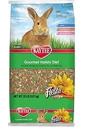 Kaytee Fiesta Rabbit Food, 20-lb bag