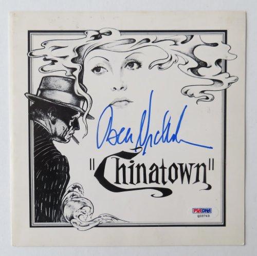 Chinatown Cast Authentic Autographs Jack Nicholson/Faye Dunaway/Roman Polanski (PSA/DNA)