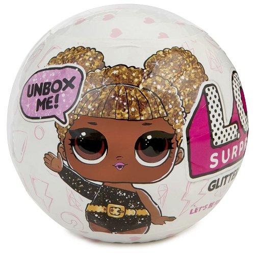 Limited Edition Glitter Series Ball Lol Series 1 L  O  L