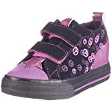 Heelys Starlet - Zapatillas de cierre de velcro con ruedas infantiles, color negro, talla 31