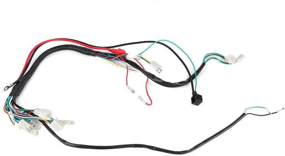 Elektrischer Kabelbaum Motorradzubeh/ör Elektrischer Anlasserkabelbaum 50ccm 70ccm 90ccm 110ccm 125ccm Kabelbaum