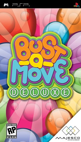 Bust-a-Move Deluxe - Sony PSP (Bust A Move Arcade Game For Sale)