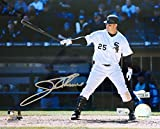Jim Thome Signed Autographed 8x10 Chicago White Sox Batting Photo Fanatics - Certified Certified