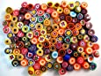 25g Mixed Small Millefiori 4 to 5mm. Approx 190 pieces
