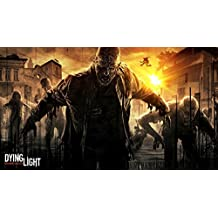 """Dying Light - Open World Survival Horror Game Fabric Cloth Rolled Wall Poster Print -- Size: (43"""" x 24"""" / 24"""" x 13"""")"""