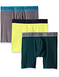"Under Armour Men's Charged Cotton Stretch 6"" Boxerjock 3-Pack"