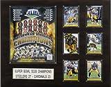 NFL Pittsburgh Steelers Super Bowl XLIII Champions Plaque