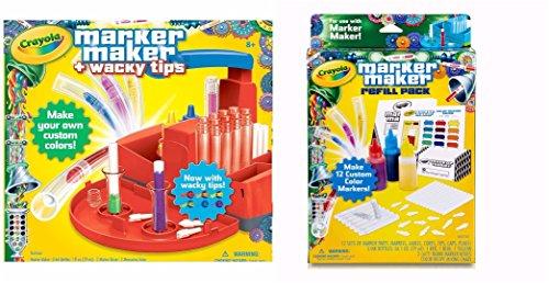 Crayola Marker Maker Wacky Tips & Refill Pack