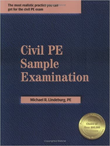 Civil pe sample examination michael r lindeburg 9781591260059 civil pe sample examination michael r lindeburg 9781591260059 amazon books fandeluxe Image collections