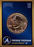 Freddie Freeman 2018 Baseball Treasure MLB Coins Copper Atlanta Braves FD3207