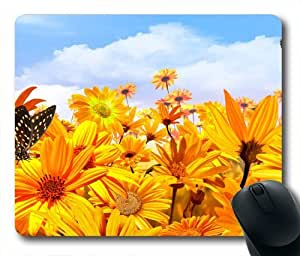 Sunshine Bright Oblong Classical Shaped Mouse Pad
