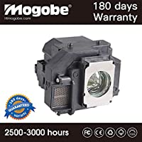 For ELPLP56 Replacement Projector Lamp with Housing for V13H010L56 MovieMate 60 62; EH-DM3 Projector by Mogobe