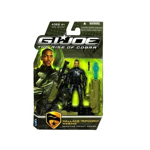 G.I. Joe Movie The Rise of Cobra 3 3/4 Inch Action Figure Wallace
